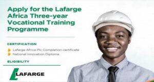 Lafarge Africa Graduate Trainee