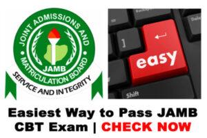 Tricks To Pass JAMB Examination