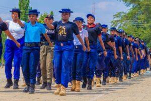 NSCDC training uniform